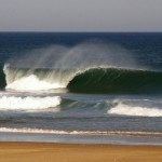 Lacanau waves