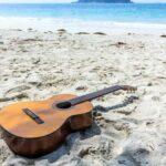 surf beach guitar