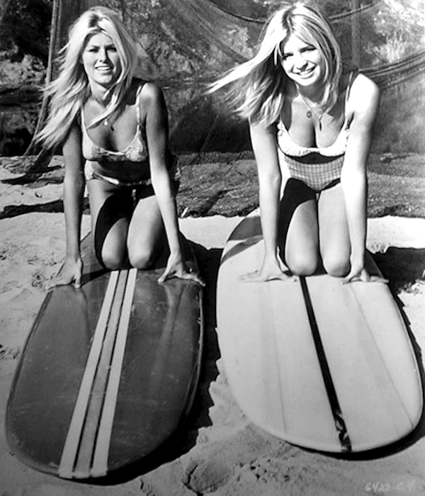 sexy sixties surfer girls