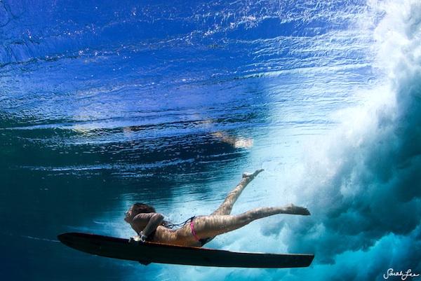 sarah lee underwater surfer girl