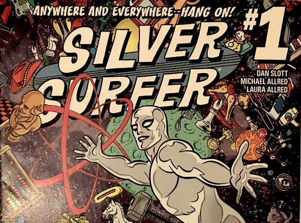silver surfer magazine