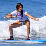 Celebrity surfer girls