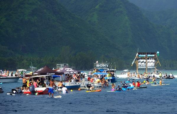 teahupoo surf party