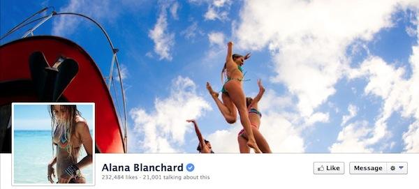 Alana Blanchard Facebook