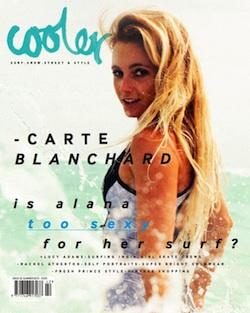 Cooler Magazine Alana Cover