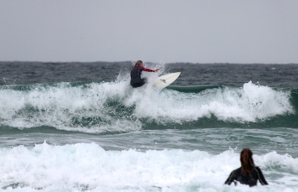 Hannah Bristow surfing uk