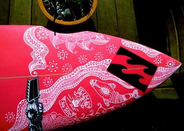felicity palmateer surfboard design
