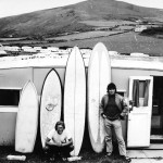 seventies surfboard quiver