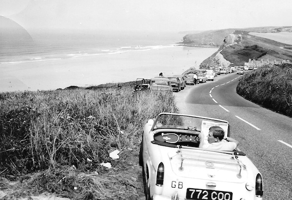 Watergate Bay convertible MG