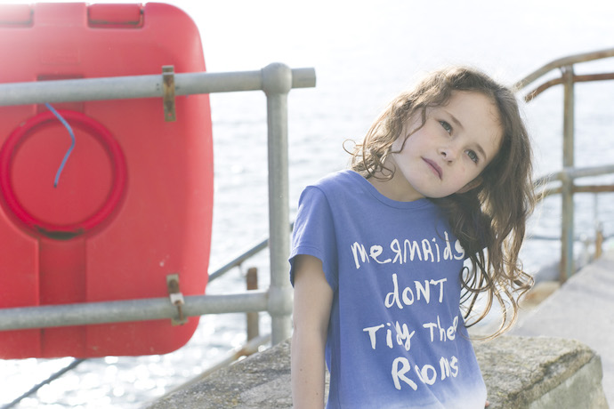 Animal kids clothing - mermaid
