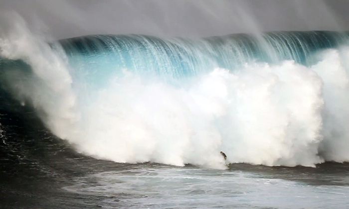 Jeff Rowley Big Wave wipeout