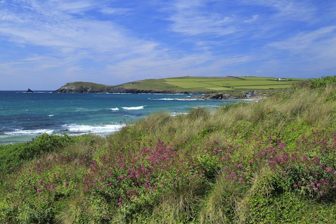 Trevose Head from Constantine bay by John Miller