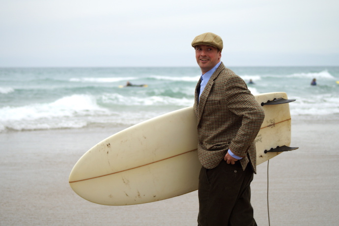 feel the need for tweed surfing