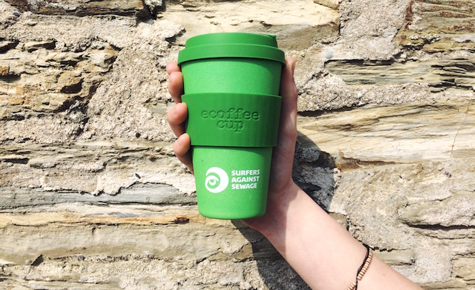 Surfers against sewage eco coffee cup