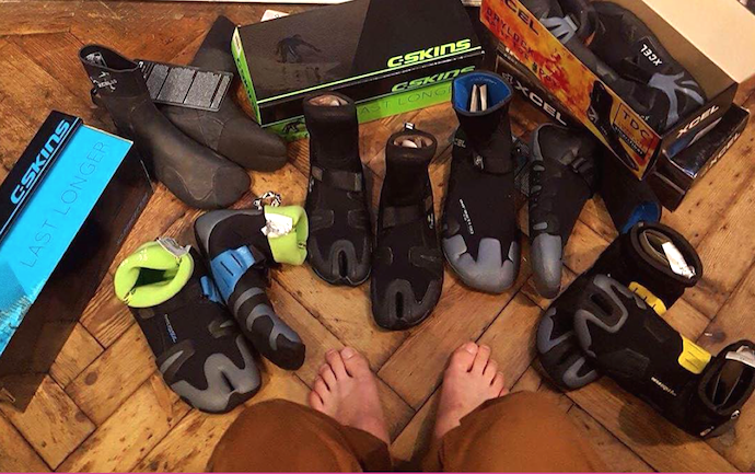 Wetsuit boots from Zuma Jay