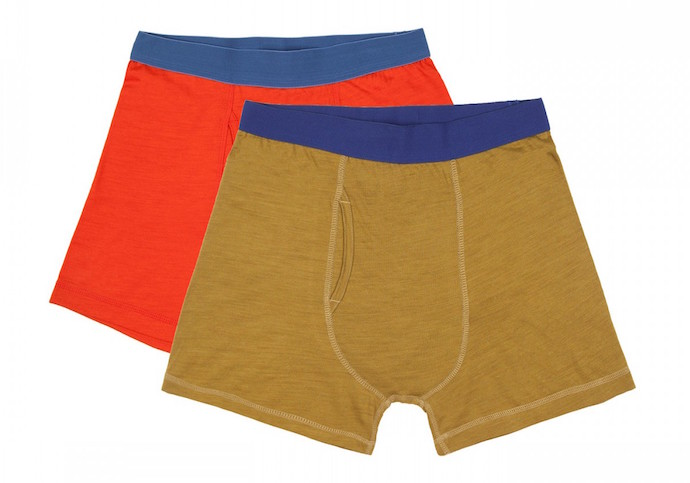 Superfine Merino boxers from finisterre