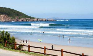 surfing in Spain