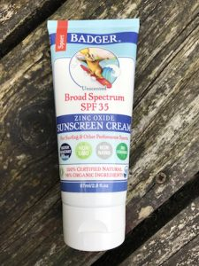 badger suncream