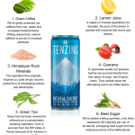 WIN a month's supply of Tenzing – the new natural energy drink
