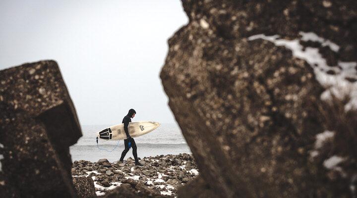 Surfer East Coast England