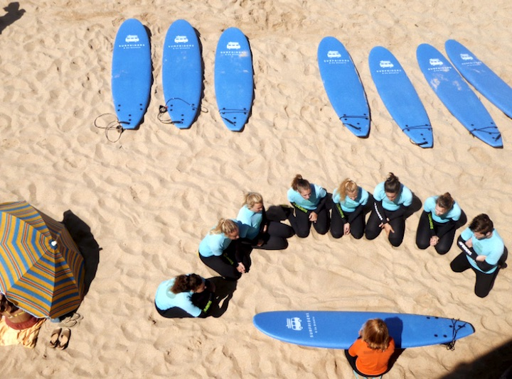 Ericeira surf lesson