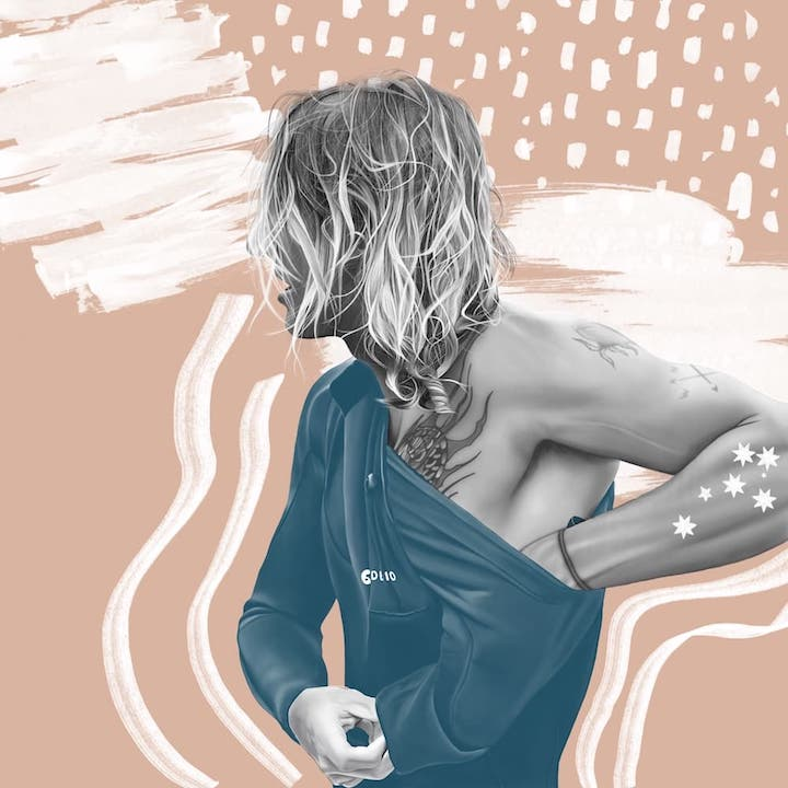 Coby-Perkovich-Fabi-Aguilar-surfer-portrait-illustration
