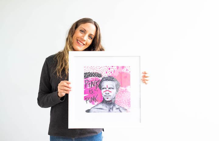 Pink is Punk by Fabi Aguilar